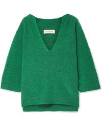 By Malene Birger | Wanlay Cropped Knitted Sweater | Lyst
