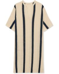 Vanessa Bruno - Imeo Striped Linen-blend Dress - Lyst