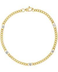 Jemma Wynne - 18-karat Gold Diamond Bracelet - Lyst