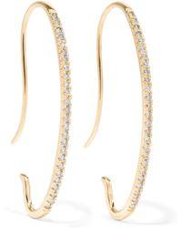 Hirotaka | Gossamer 10-karat Gold Diamond Earrings | Lyst