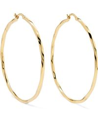 Maria Black - Francisca Gold-plated Hoop Earrings - Lyst
