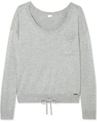 Calvin Klein - Pure Knitted Pajama Top - Lyst
