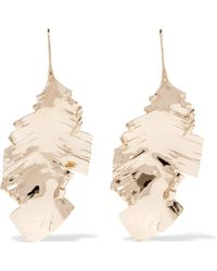 Valentino - Gold-tone Earrings - Lyst