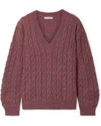 Vince - Cable-knit Jumper - Lyst