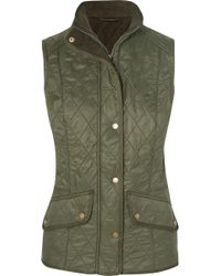 Barbour - Cavalry Diamond-quilted Gilet - Lyst