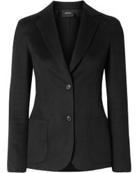 Akris - Saigon Wool And Cashmere-blend Jacket - Lyst