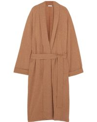Eres - Frileuse Loving Wool And Cashmere-blend Robe - Lyst