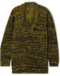 Marc Jacobs - Oversized Wool-blend Jumper - Lyst