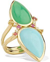 Ippolita - Prisma 18-karat Gold Multi-stone Ring - Lyst