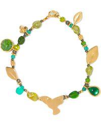 Katerina Makriyianni - Gold Vermeil Multi-stone Bracelet - Lyst