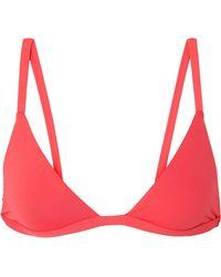 Broochini - Palmero Triangle Bikini Top - Lyst