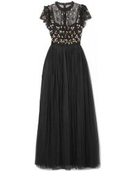 9086a3e8f8e Needle   Thread - Rococo Sequin-embellished Point D esprit And Embroidered  Tulle Gown