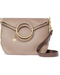 See By Chloé - Monroe Medium Textured-leather Tote - Lyst