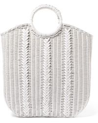 Ulla Johnson - Rona Wicker Tote - Lyst