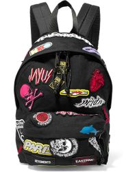Vetements - X Eastpak Embroidered Canvas Backpack - Lyst