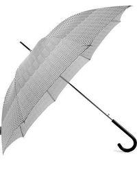 Missoni Cecilia Striped Shell Umbrella - Black
