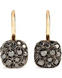 Pomellato - Nudo 18-karat Rose Gold Diamond Earrings - Lyst