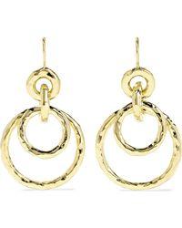 Ippolita - Jet Set Medium 18-karat Gold Earrings Gold One Size - Lyst