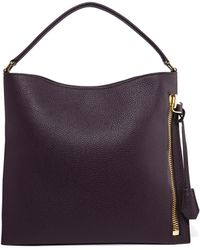 Tom Ford - Alix Small Textured-leather Tote - Lyst