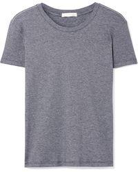 Skin - Margaux Striped Pima Cotton T-shirt - Lyst