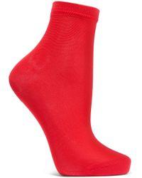 Maria La Rosa - Silk-blend Socks - Lyst