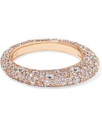 Anita Ko   Galaxy 18-karat Rose Gold Diamond Ring   Lyst