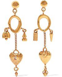 Chloé - Gold-tone Earrings - Lyst