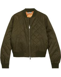 Vince - Quilted Shell Bomber Jacket - Lyst