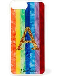 Edie Parker - Goo.ey Rainbow Printed Plastic Iphone 6 And 7 Plus Case - Lyst