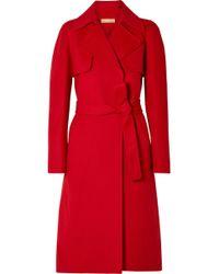 Michael Kors - Wool Trench Coat - Lyst