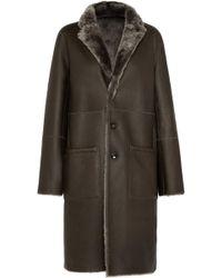 JOSEPH - Brittany Reversible Shearling Coat - Lyst