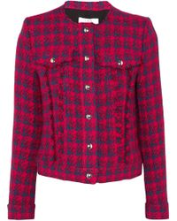 IRO | Quilombe Metallic Frayed Tweed Jacket | Lyst