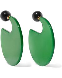 Marni - Circle-hoop Round Post-back Earrings - Lyst