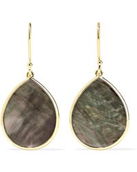 Ippolita - Polished Rock Candy 18-karat Gold Shell Earrings - Lyst