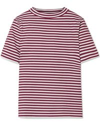 M.i.h Jeans - Penny Striped Cotton T-shirt - Lyst