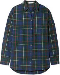 Madewell - Ex-boyfriend Checked Cotton-flannel Shirt - Lyst