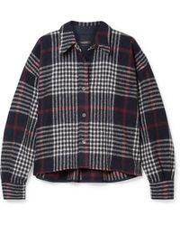 Isabel Marant - Hanao Plaid Wool Shirt - Lyst