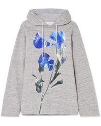 Golden Goose Deluxe Brand - Loretta Oversized Floral-print Cotton-jersey Hooded Top - Lyst