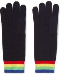 Madeleine Thompson - Elba Striped Cashmere Gloves - Lyst