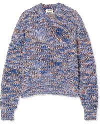 Acne Studios - Zora Chunky-knit Sweater - Lyst