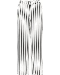 Asceno - Striped Silk-satin Pyjama Trousers - Lyst