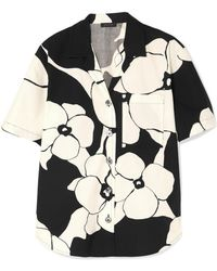 Marc Jacobs - Floral-print Cotton Shirt - Lyst