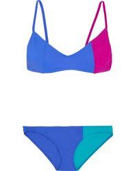 Araks - Elsa And Enel Color-block Triangle Bikini - Lyst