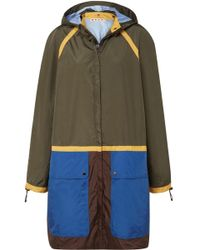 Marni - Color-block Shell Jacket - Lyst
