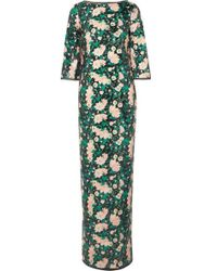 Rachel Zoe - Lina Open-back Sequined Chiffon Gown - Lyst