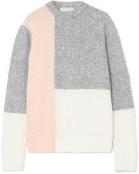 3.1 Phillip Lim - Lofty Color-block Knitted Jumper - Lyst