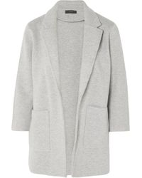 J.Crew - Hannah Knitted Cotton-blend Blazer - Lyst