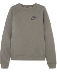 Nike - Rally Cotton-blend Sweatshirt - Lyst