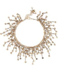 Rosantica - Fred Gold-tone Anklet Gold One Size - Lyst