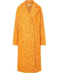 Ulla Johnson - Frances Double-breasted Bouclé-tweed Coat - Lyst